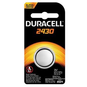 Battery, Lithium, Size DL2430, 3V, 6/cs (UPC# 66183)