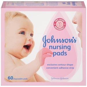 J&J 1775 Nursing Pads 60/bx 12 bx/cs