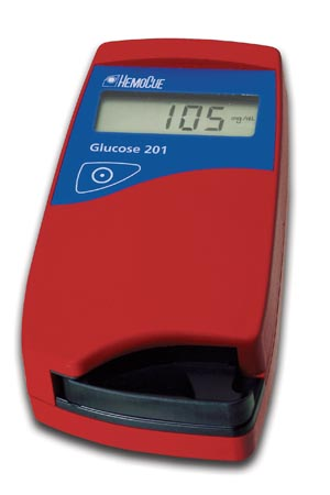 HemoCue 120706 Glucose 201 Analyzer (mg/dL)