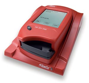 HemoCue 121135 Hb 201 DM Analyzer (g/dL)