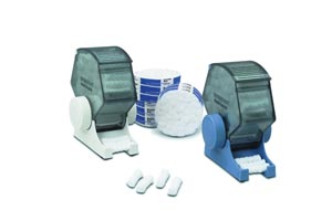 IC Roll Dispenser, Blue, Packed with 200 Rolls