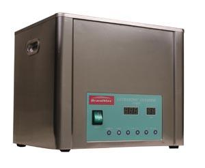 BrandMax U-10LH Ultrasonic Cleaner with Heat 10 Liter Capacity: 10L/2.64 Gal Includes Stainless Steel Hanging Basket