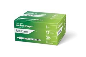 "Insulin Syringe, 1cc, 29G x -1/2"", 100/bx"