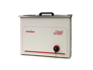 TUTTNAUER CLEAN & SIMPLE ULTRASONIC CLEANERS