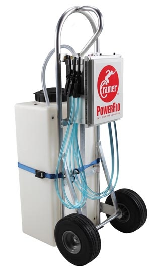 PowerFlo Pro Hydration Unit, Includes: 20-Gallon Tank w/ 6 Drinking Stations