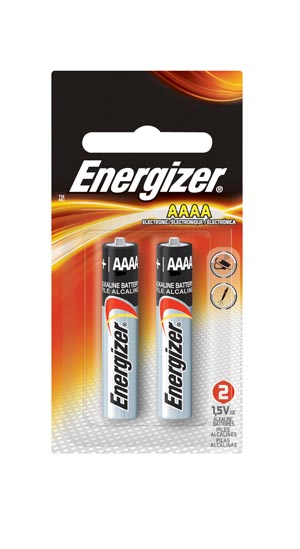 Energizer E96BP-2 Battery Alkaline AAAA 2/pk 6 pk/ct 2 ct/cs