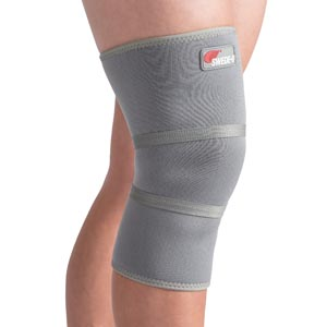 Knee Support, X-Large, Gray