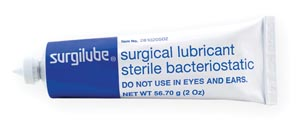 HR Pharmaceuticals 0281-0205-02 SURGILUBE 2oz (56.7gm) Tube Screw/Fez Cap (Metal Tube) 12/bx