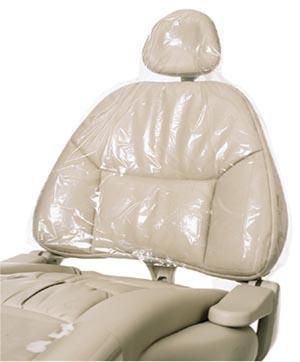 "Half Chair Sleeve 27.5"" x 24"" Clear, 225/bx, 3 bx/cs"