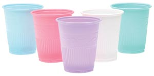 Drinking Cups, 5 oz Yellow, 1000/cs