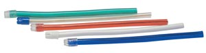 Saliva Ejectors, Assorted Colors w/ White Tip, 100/bg, 10 bg/cs
