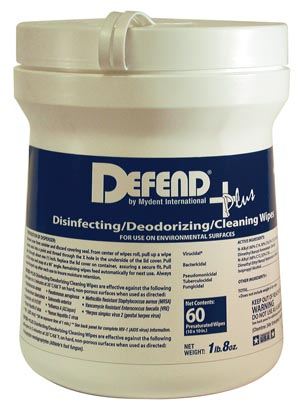 "Disinfecting Wipes, X-Large, 10"" x 10"" sheets, 60/tub, 12 tubs/cs"