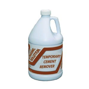 Temporary Cement Remover #6, 1 Gallon, 4/cs