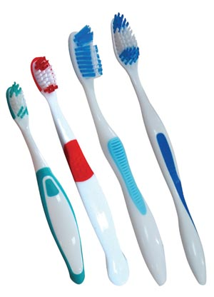 Child Toothbrush, Assorted Colors, 72/bx