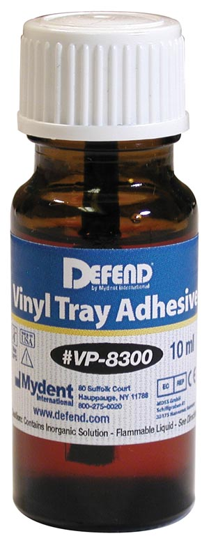 Vinyl Tray Adhesive, 10 mL Bottle with Applicator