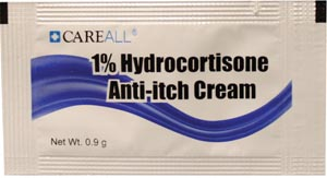 Hydrocortisone Ointment 1%, 0.9g, Compared to the Active Ingredients in Cortaid, 144/bx, 12 bx/cs (COMING SOON)
