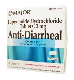 Anti-Diarrheal, Caplets, 24s, Boxed, Compare to Imodium A-D, NDC# 00904-7725-24