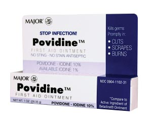 Povidine Ointment, 30gm, Compare to Betadine Ointment, NDC# 00904-1102-31