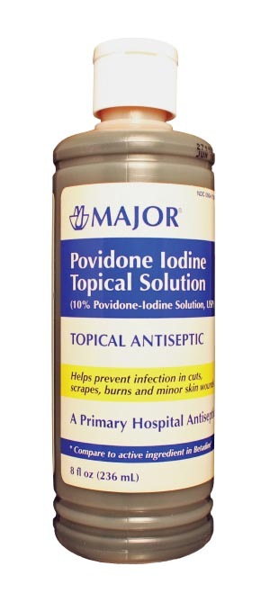Povidine Solution, 240mL, NDC# 00904-1103-09