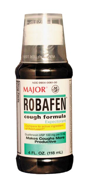 Robafen, 120mL, Unboxed, Compare to Robitussin, NDC# 00904-0061-00