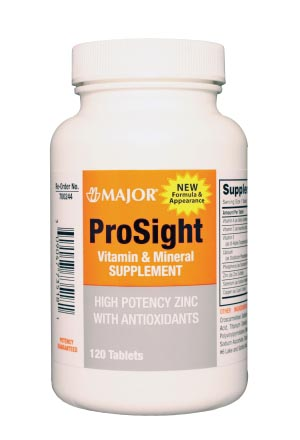 Prosight Tabs, 120s, Compare to Ocuvite, NDC# 00904-7735-18