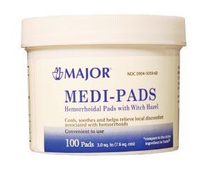 MEDI-PADS HEMORRHOID 10SNDC00904-5059-60