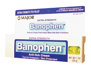 Banophen, 30gm, Compare to Benadryl Itch Relief, NDC# 00904-5354-31