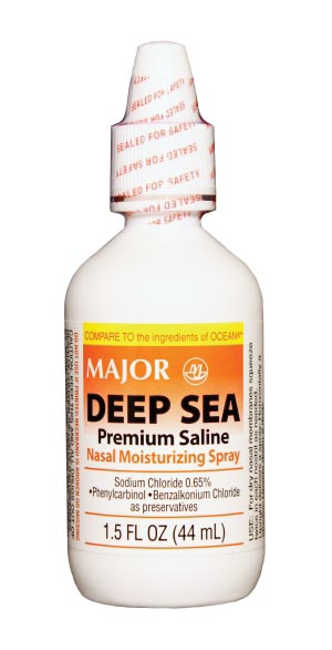 Deep Sea, 45mL, Compare to Ocean Nasal Spray, NDC# 00904-3865-75