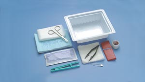 Busse 759 Dressing Change Tray, Sterile, 20/cs