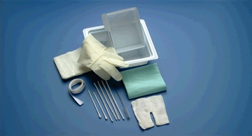 Busse 713 Tracheostomy Kit, Removable Basin, Sterile, 20/cs