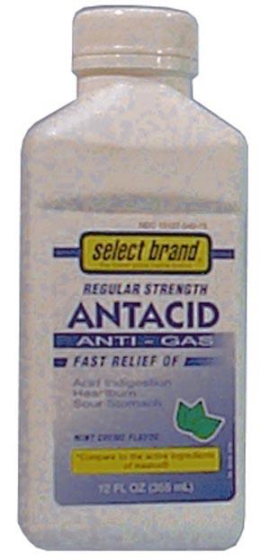 Saj Select Brand Antacids-Antigas Case 7240005 By Saj Distributors