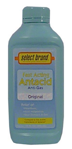 Saj Select Brand Antacids-Antigas Case 7240021 By Saj Distributors