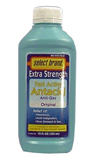 Saj Select Brand Antacids-Antigas Case 7240039 By Saj Distributors