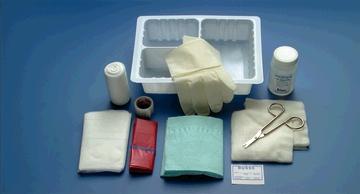 Busse 1443 Dressing Change Tray, Sterile, 20/cs