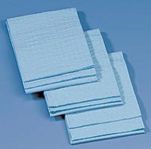 "Busse 6710 Kaycel Towel, Blue, Non-Sterile, 19½"" x 23"", Absorbent, General Purpose , 200/cs"