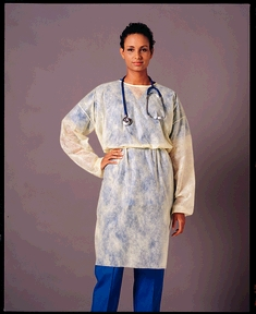 Busse 202 ISO Gown, Non-Sterile, 50/cs