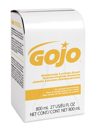 Gojo 800ml Bag-In-Box System Case 9102-12 By Gojo Industries