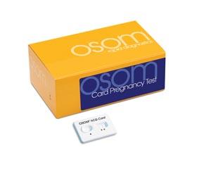 Sekisui Osom® Hcg Card Pregnancy Test Kit 102 by Sekisui Diagnostics