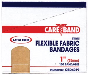 Aso Careband Fabric Adhesive Strip Bandages Case CBD4019 by ASO