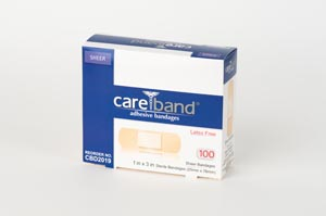 Aso Careband Sheer Adhesive Strip Bandages Case CBD2019 by ASO