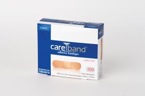 Aso Careband Fabric Adhesive Strip Bandages Case CBD4018 by ASO