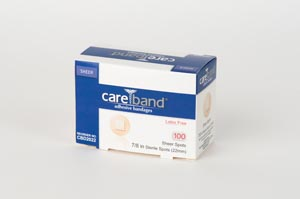 Aso Careband Sheer Adhesive Strip Bandages Case CBD2022 by ASO