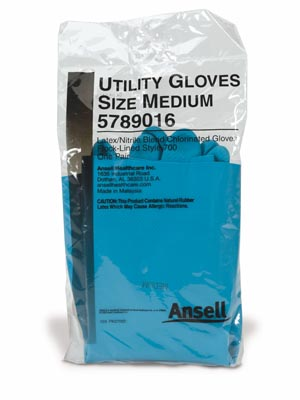 Ansell Latex/Nitrile Blend Utility Gloves Case 5789015 By Ansell