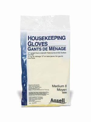 Ansell Housekeeping Gloves Case 8980 By Ansell
