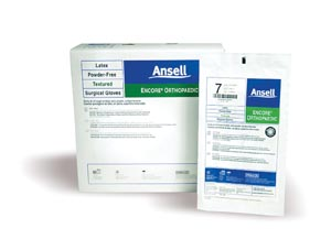 ANSELL ENCORE POWDER-FREE ORTHOPAEDIC STERILE SURGICAL GLOVES: preorder ANS 5788004 cs                                      $257.40 Stocked