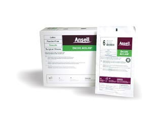 ANSELL ENCORE ACCLAIM POWDER-FREE LATEX SURGICAL GLOVES: preorder ANS 5795006 cs                                           $257.40 Stocked