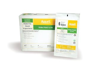ANSELL GAMMEX NON-LATEX POWDER-FREE STERILE NEOPRENE SURGICAL GLOVES: preorder ANS 8514 cs                                      $462.00 Stocked