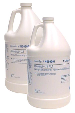 Glutaraldehyde Gallon, 2.6% Buffered Glutaraldehyde, 4/cs
