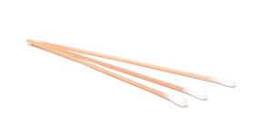 "Cotton-Tipped Applicator, 3"" x 1/12"", Wooden Shaft, Non-Sterile, 100/bg, 10 bg/bx, 10 bx/cs"