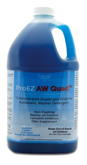 Certol Proez Aw Quad Enzyme Automatic Washer Detergent Case PREZAW128 by Certol